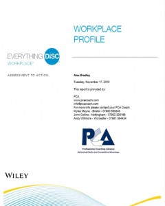 sample profile workplace